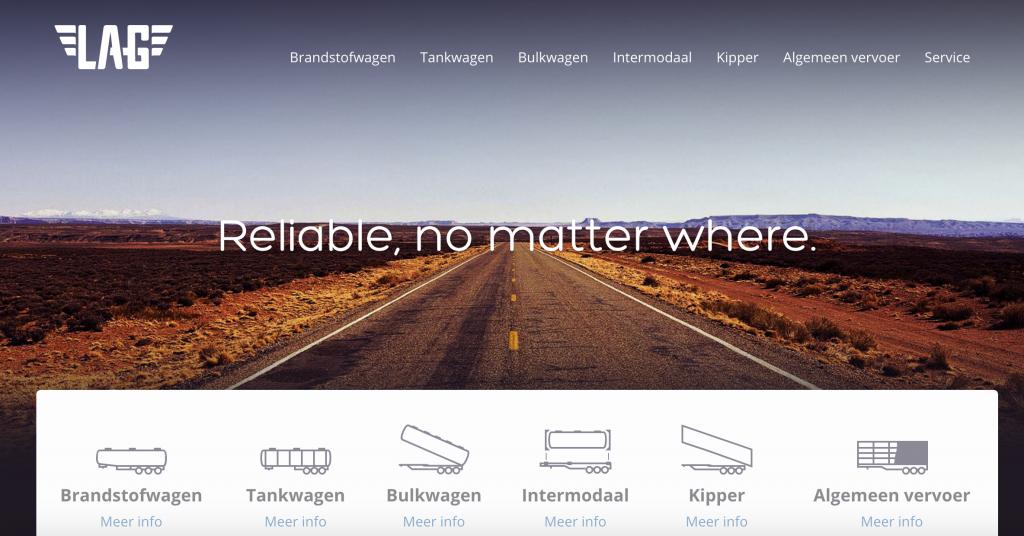 Homepage titel