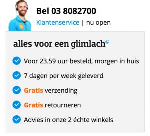 Homepage voordelen