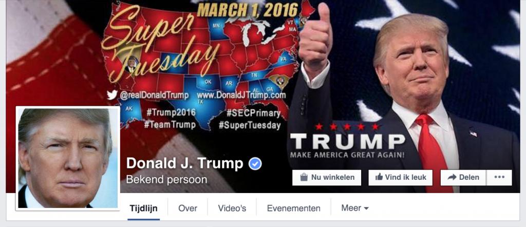 Facebook profiel