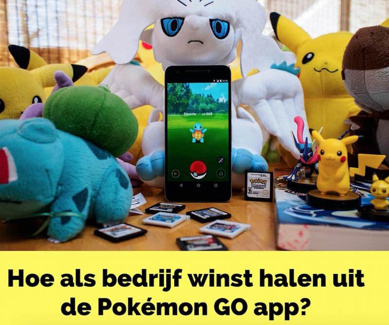 Pokémon GO Bedrijven