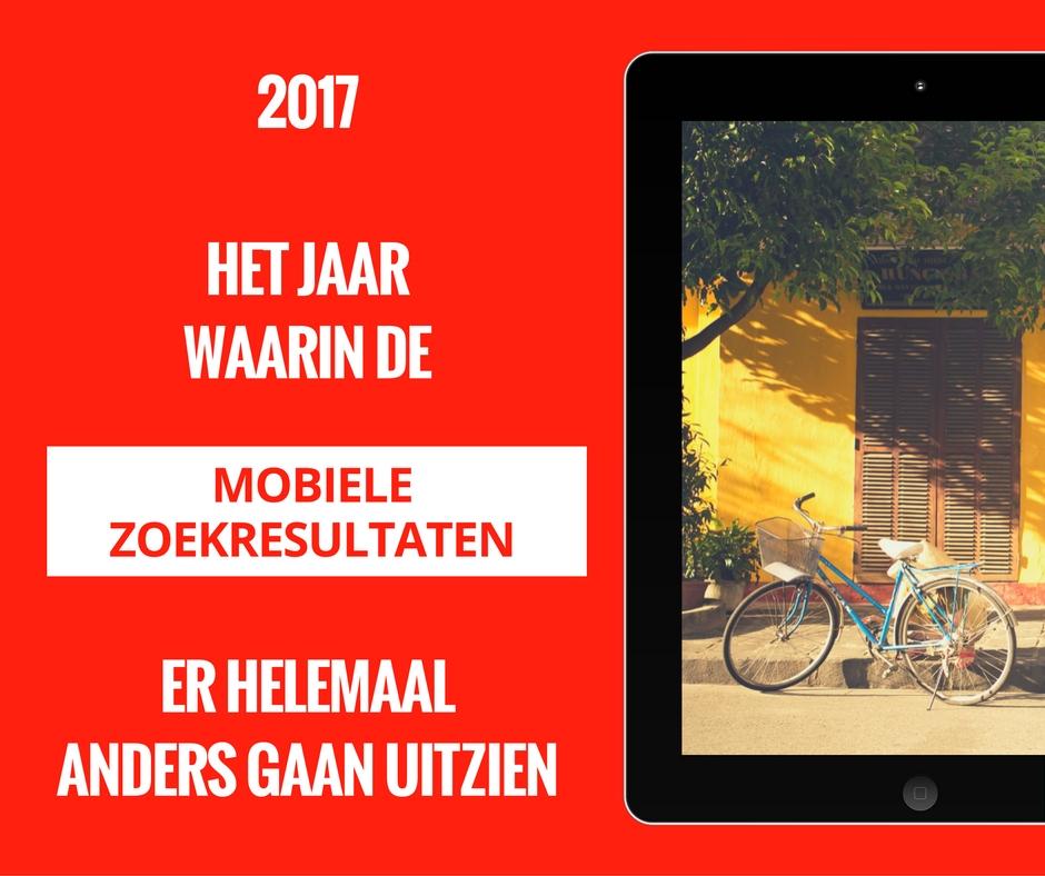Mobiele zoekresultaten