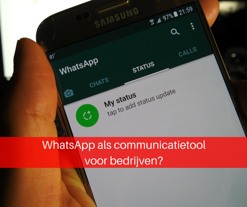 WhatsApp bedrijven